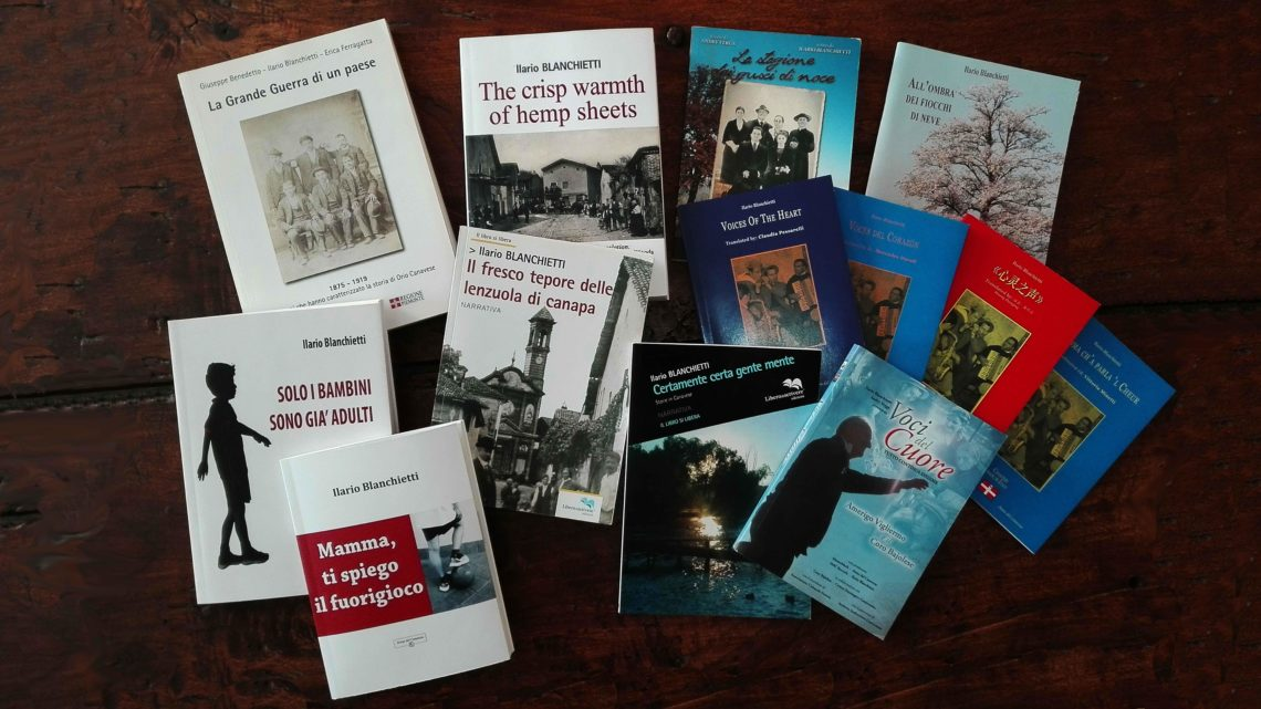 15 nov 2019 – Ilario Blanchietti racconta i suoi lavori e l'ultimo libro
