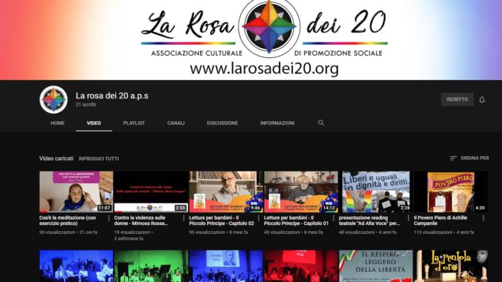 Canale Youtube della Rosa