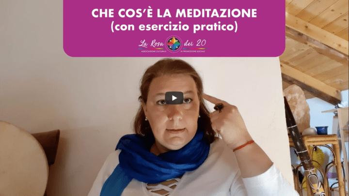 Nuovo Video! Scopri la meditazione