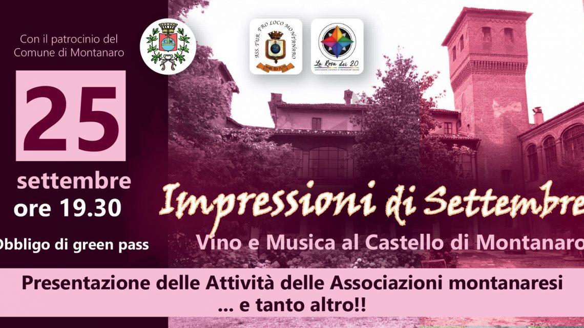 Impressioni di Settembre: vino e musica